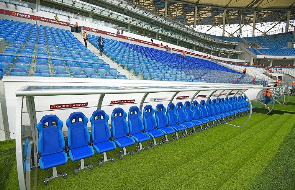 Трибуны стадиона Волгоград Арена