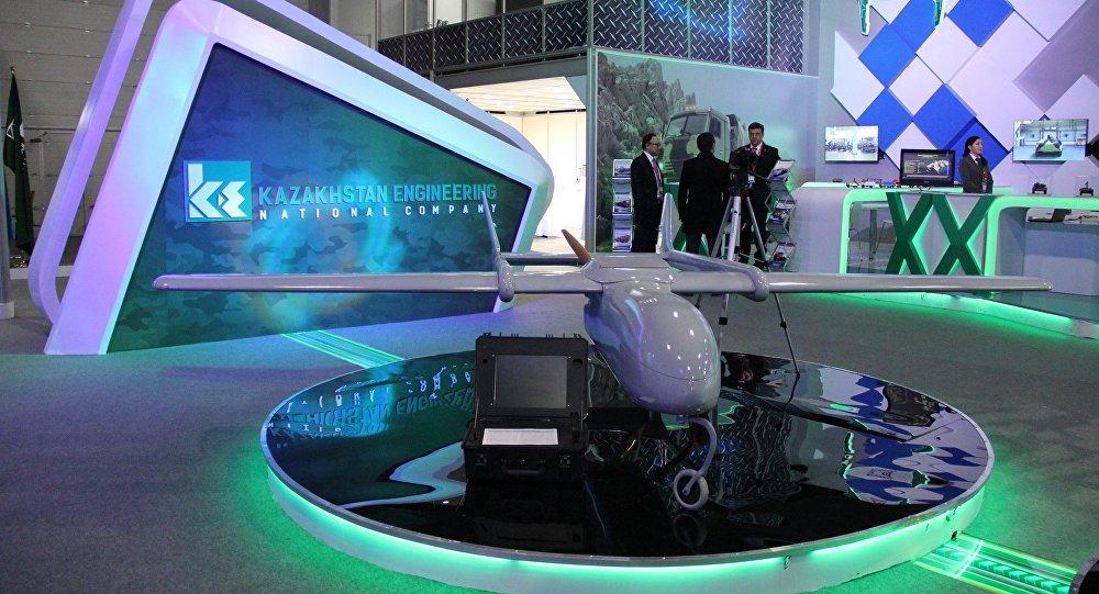 Стенд Казахстан инжиниринг на выставке KADEX