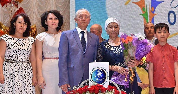 Родители Димаша Кудайбергена