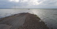 УАЗ ушел под воду в Акмолинской области