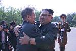 Вторая встреча лидеров Корей в демилитаризованной зоне