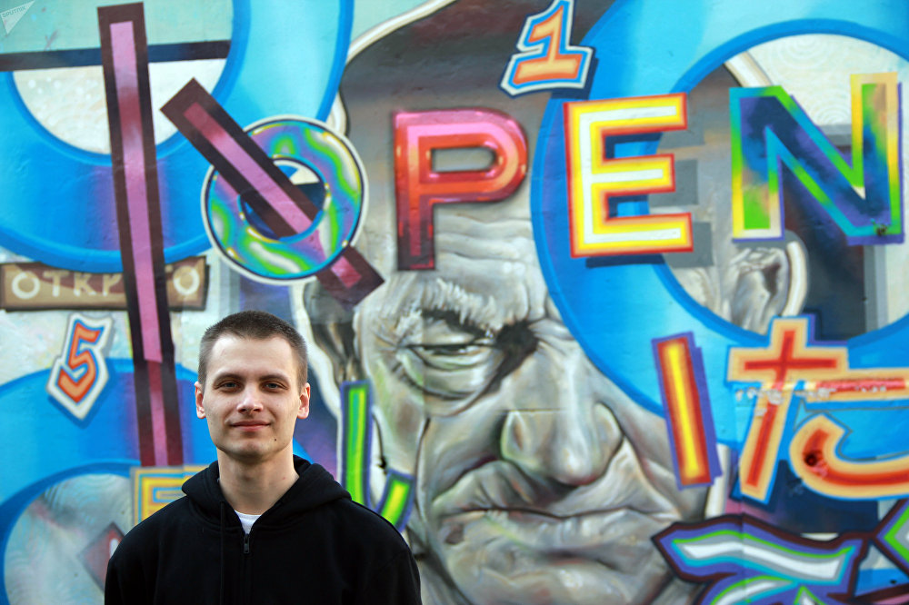 Организатор нижегородского  арт-проекта Место уличный художник Никита Nomerz