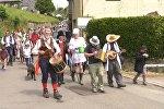 Фестиваль земляных червей в Великобритании