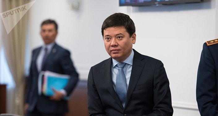Марат Бекетаев - министр юстиции Казахстана