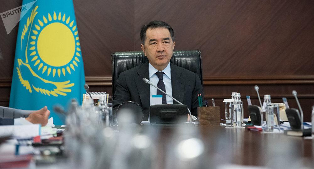 Премьер-министр Бақытжан Сағынтаев