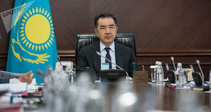 Премьер-министр Бакытжан Сагинтаев