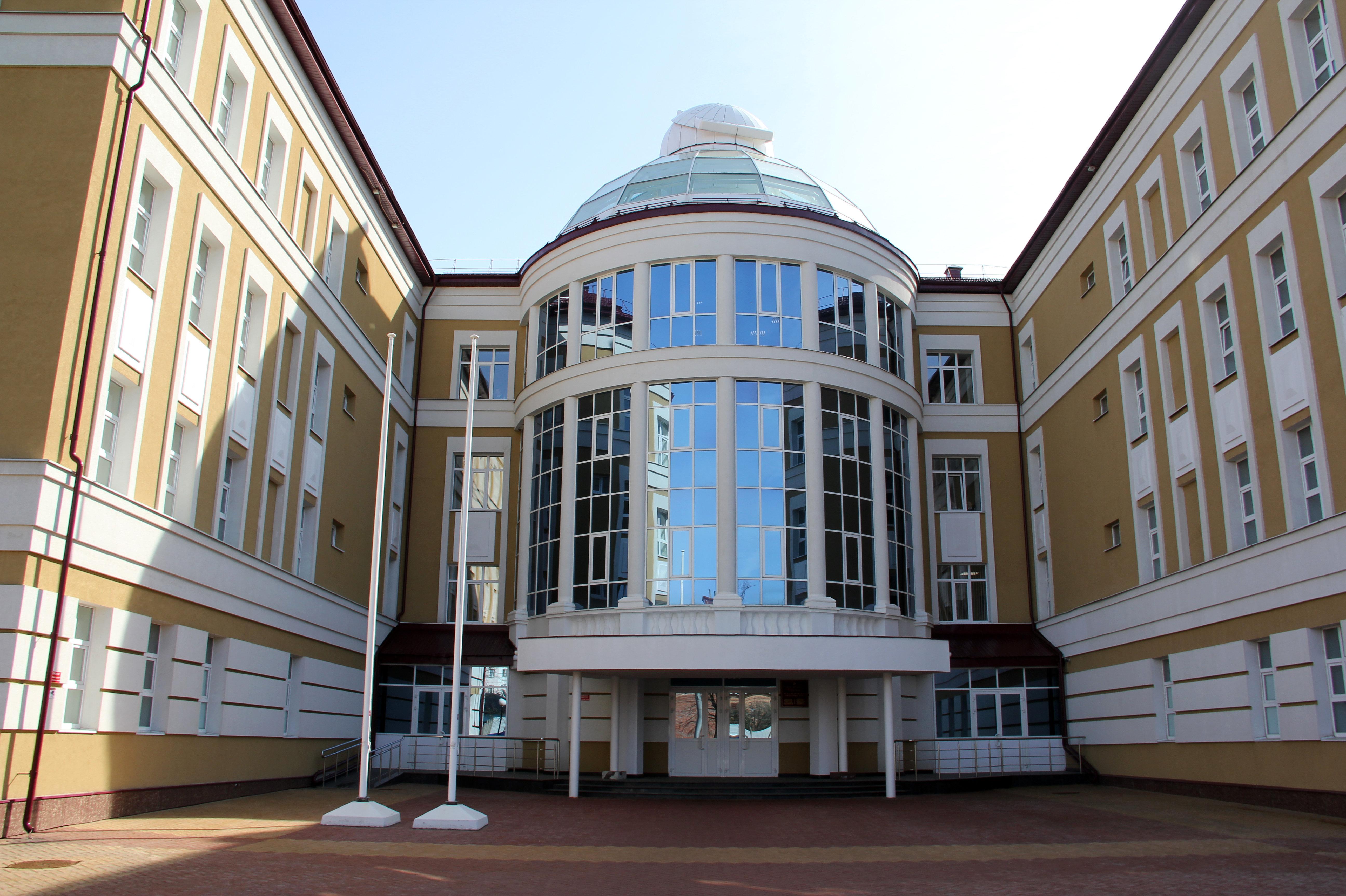 Главный корпус Республиканского лицея для одаренных детей в Саранске