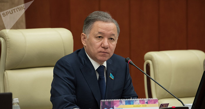 Председатель мажилиса Нурлан Нигматулин