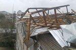 Последствия сильного урагана в Восточном Казахстане, архивное фото