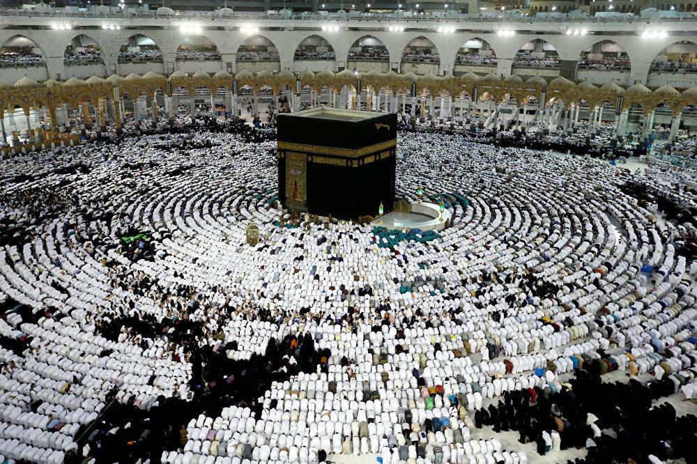 Кааба в главной мечети Мекки