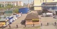 Бомбу ищут в торговом центре в Петропавловске