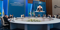 Нұрсұлтан Назарбаев Нұр Отан партиясының кеңейтілген отырысында