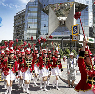 День защиты детей в Алматы