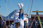 В Астане прошло открытие национально-культурного комплекса Этноаул и премьера театрально-циркового шоу Алпамыс