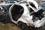 Автомобиль, на котором разбилась Сания Шакирова