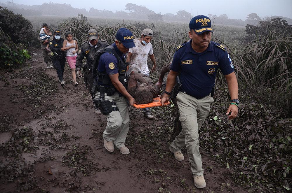 Гватемаладағы жанартау атқылауы