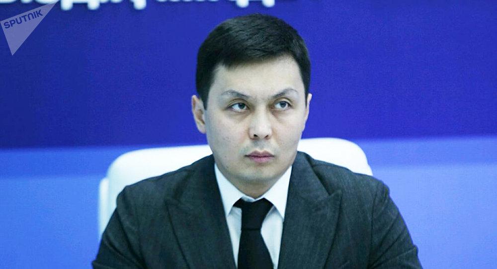 Заместитель руководителя следственного департамента Национального бюро по противодействию коррупции Асхат Жумагалиев