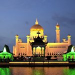 Мечеть Султана Омара в Брунее
