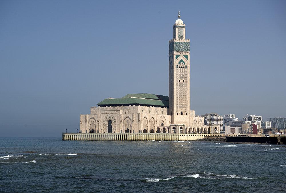 Великая мечеть Хасана II в Касабланке, Марокко