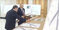 Разговор Ислама Каримова и Шавката Мирзиёева