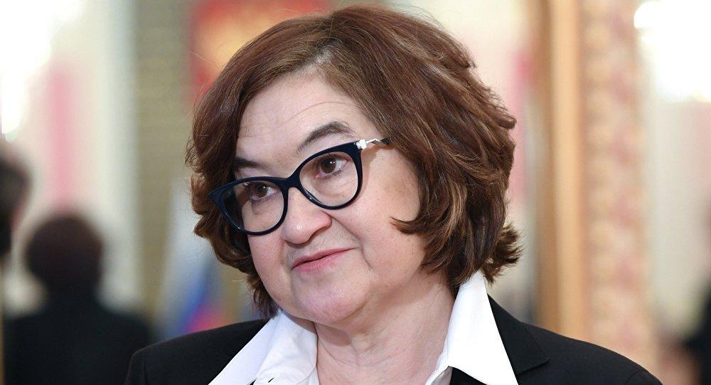 Генеральный директор Третьяковской галереи Зельфира Трегулова