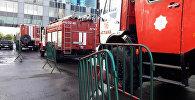 Пожарно-тактические учения прошли в Казахстан Темир Жолы