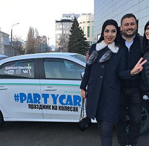 Ситора Фармонова зажигает в самарском такси