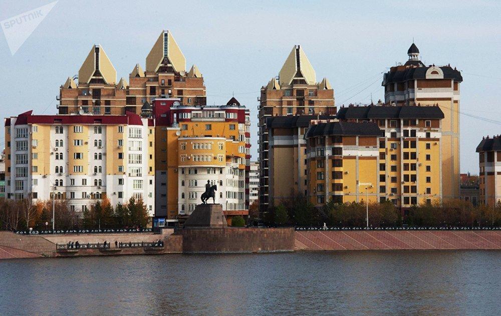 Астана, микрорайон Самал. Архивное фото - рекадр