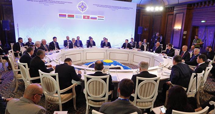 Встреча министров иностранных дел стран ОДКБ