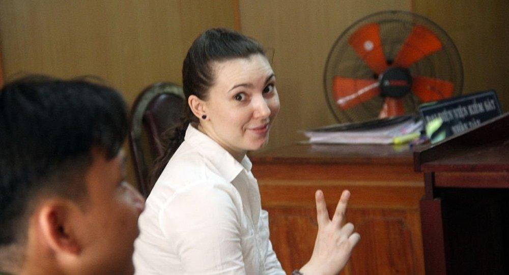 Мария Дапирка в ожидании оглашения приговора