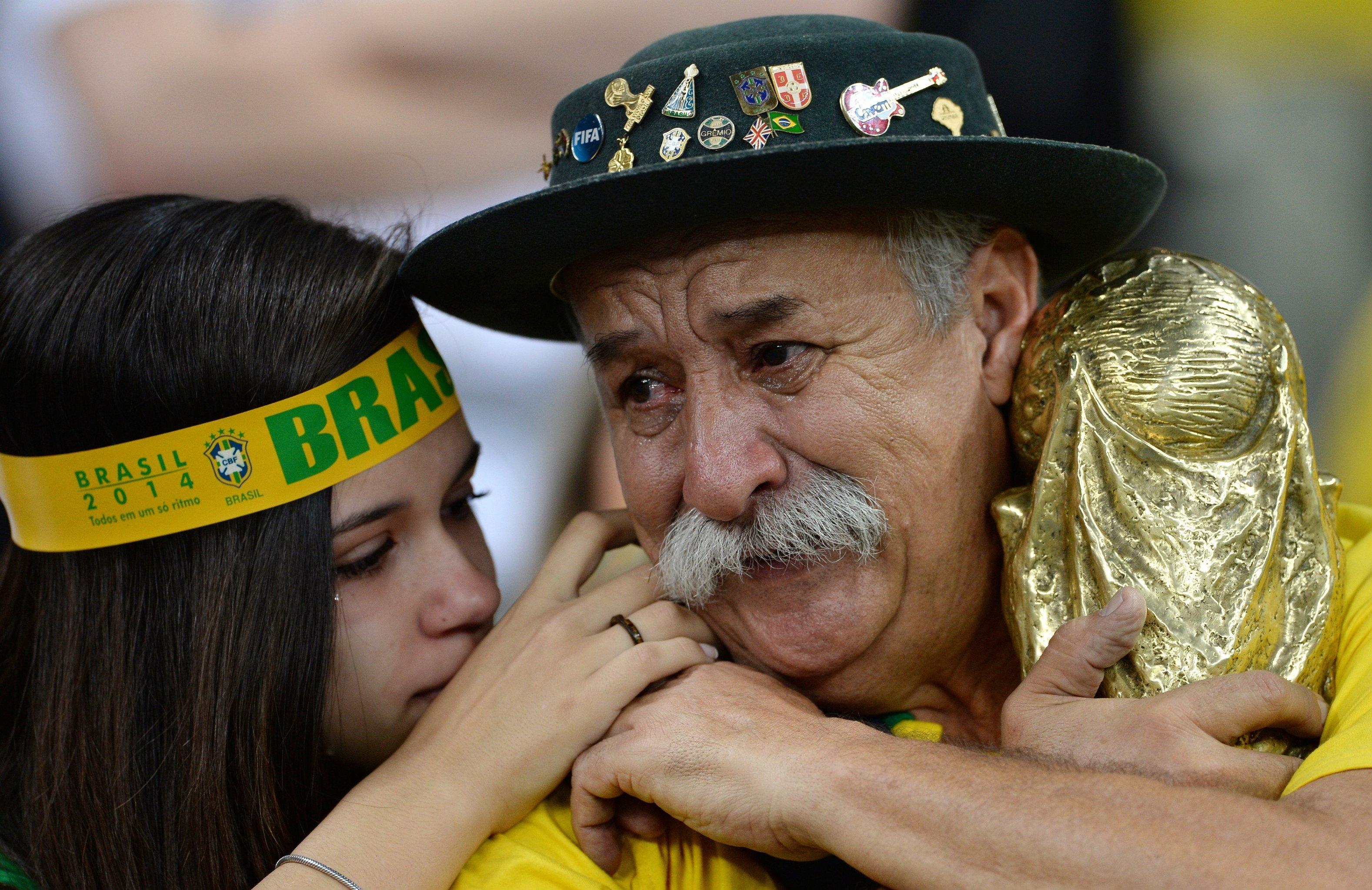 Кловис Акоста Фернандес во время чемпионата мира по футболу 2014 года
