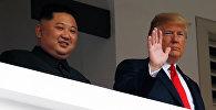 Ким Чен Ын  мен Дональд Трамп