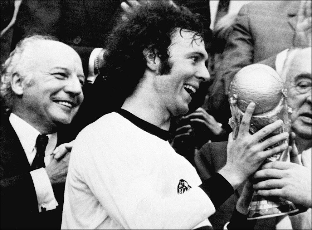Финал чемпионата мира 1974 года, архивное фото