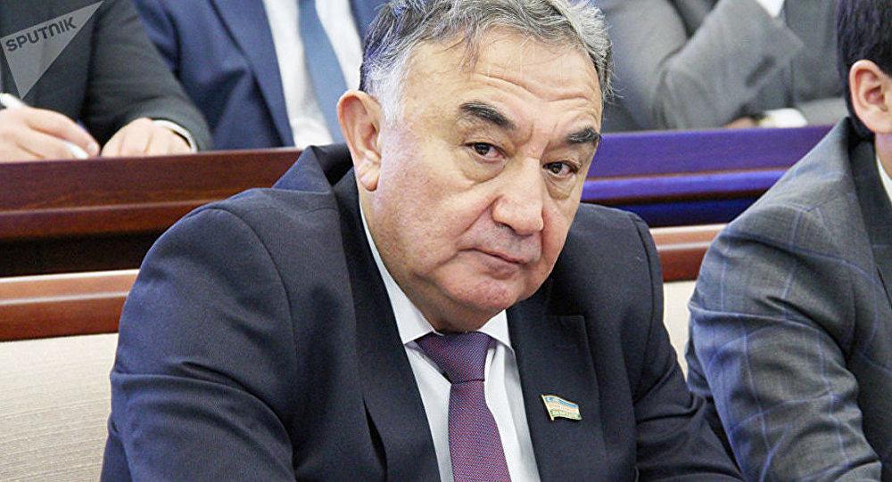 Председатель Комитета по экологии и охране окружающей среды Олий Мажлиса Узбекистана Борий Алиханов