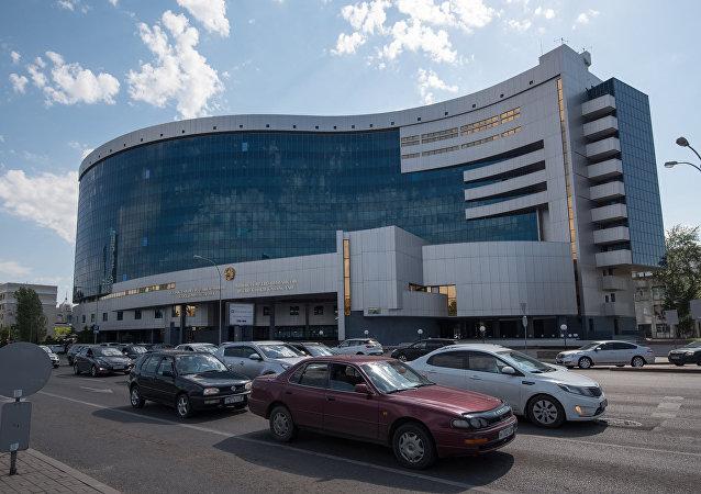 Здание министерства финансов