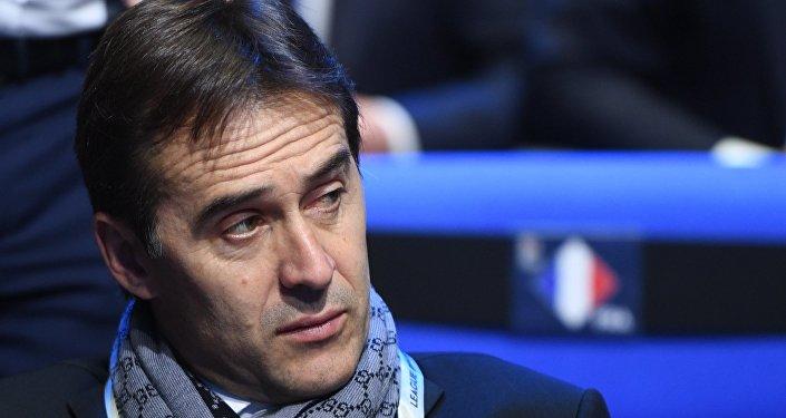 Главный тренер сборной Испании по футболу Хулен Лопетеги, архивное фото