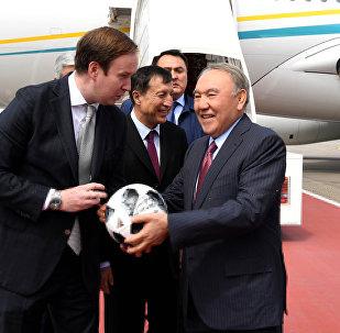 В рамках рабочего визита Москву планируется участие Нурсултана Назарбаева в церемонии открытия Чемпионата мира по футболу 2018 года