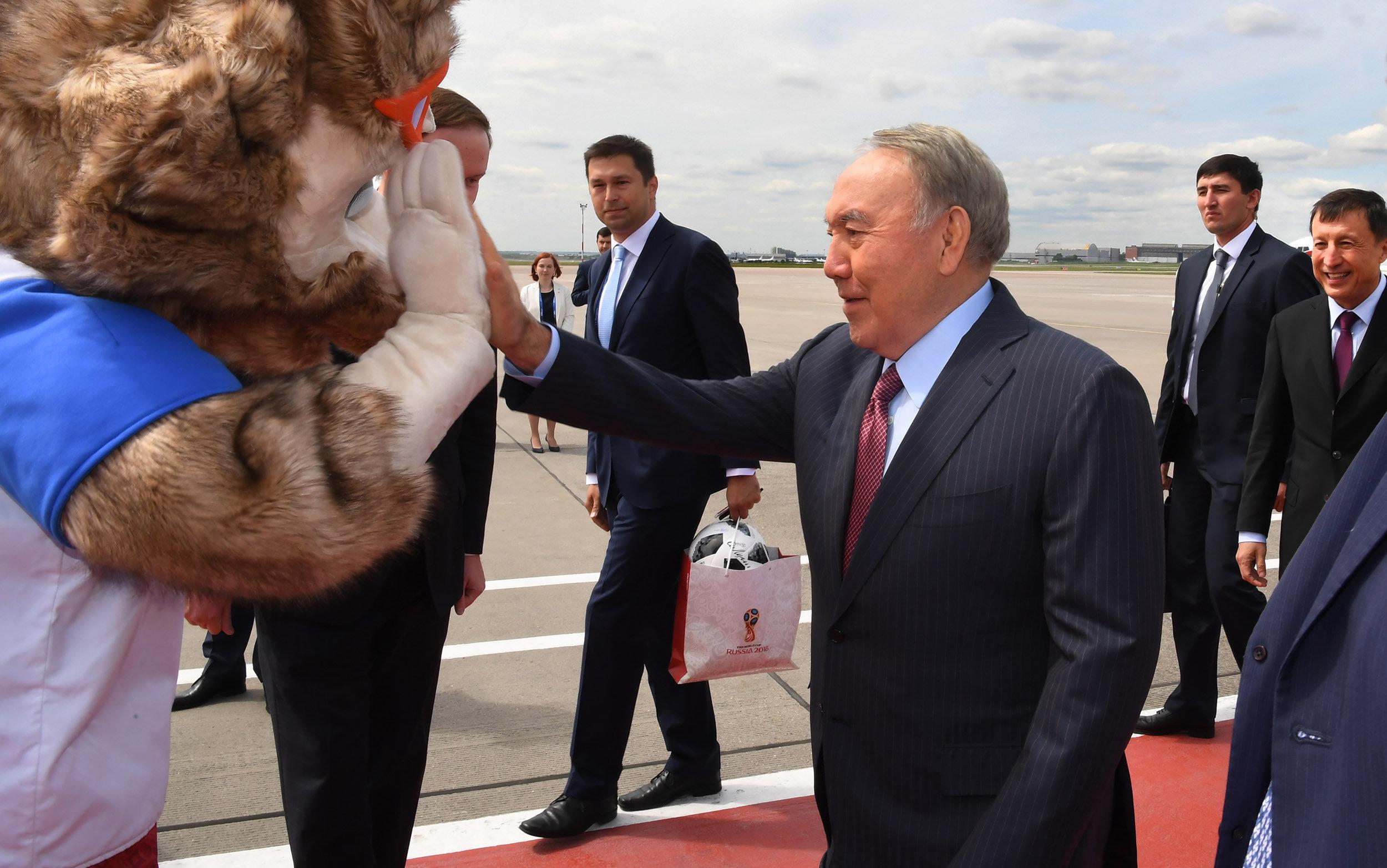 В рамках рабочего визита в Москве планируется участие Нурсултана Назарбаева в церемонии открытия чемпионата мира по футболу 2018 года