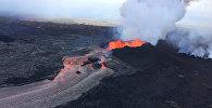 Извержение вулкана Килауэа на острове Гавайи