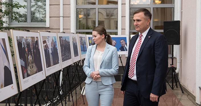 Фотовыставка в посольстве РФ в Казахстане