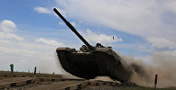 Подготовка к танковому биатлону