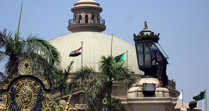 Каирский университет в Египте, архивное фото