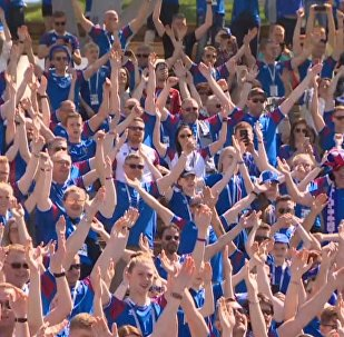 Знаменитое Ху! исландских болельщиков