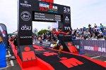 Стали известны чемпионы соревнования по триатлону Ironman в Астане