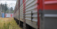 Вагоны поезда, архивное фото