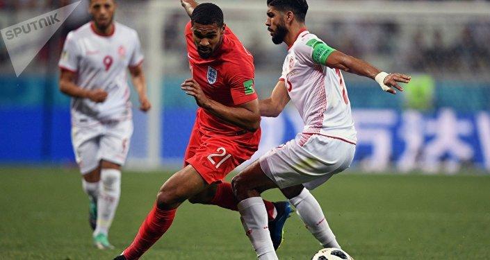 Футбол. ЧМ-2018. Матч Тунис - Англия