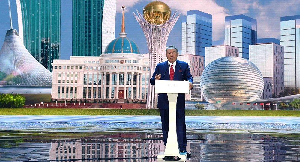 Image result for Казахстанцы запротестовали из-за переименования Астаны в честь Назарбаева