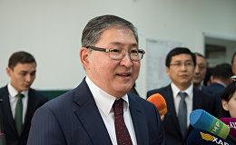 Министр образования и науки РК Ерлан Сагадиев