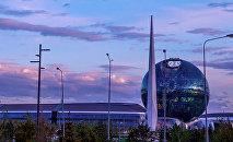 Розовые облака. Астана, 18 июня, 2018 г.