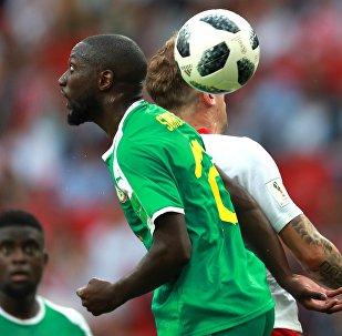 Футбол. ЧМ-2018. Матч Польша - Сенегал